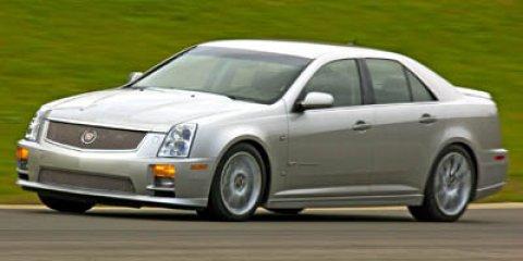 2007 Cadillac STS-V 4dr Sdn BLACK RAVEN CD Changer Bucket Seats