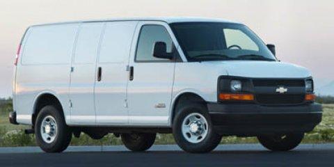 """2007 Chevrolet Express Cargo Van RWD 2500 135"""" SUMMIT WHITE"""