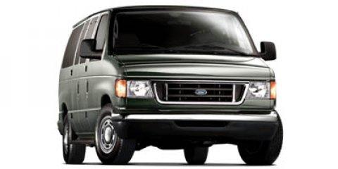 2007 Ford Econoline Cargo Van Rear Wheel Drive Power Steering