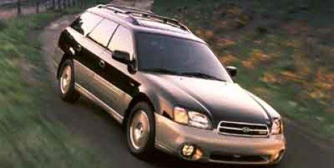 2001 Subaru Legacy Wagon Cloth Seats Child Safety Locks Cassett