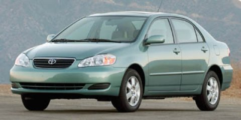 2007 Toyota Corolla Front Disc/Rear Drum Brakes