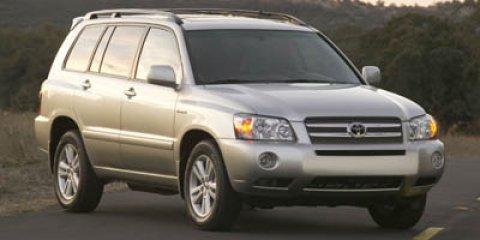 2007 Toyota Highlander Hybrid 2WD 4dr SILVER Child Safety Locks