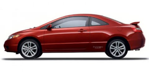 2007 Honda Civic Si 2dr Cpe Manual BLACK Driver vanity mirror