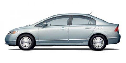 2007 Honda Civic Hybrid 4dr Sdn WHITE Cloth Seats