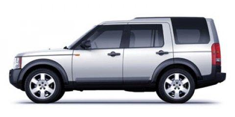 2007 Land Rover LR3 4WD 4dr V8 SE BLACK CD Changer Brake Assist