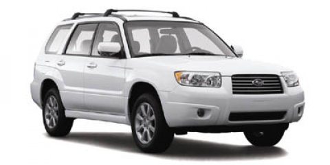 2007 Subaru Forester AWD 4dr H4 AT X w/Premium Pkg URBAN GRAY