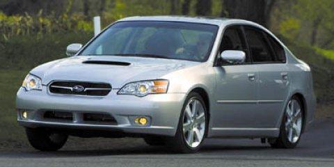 2007 Subaru Legacy Sedan 4dr H4 MT Special Edition OBSIDIAN