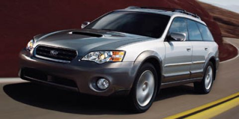 2007 Subaru Legacy Wagon 4dr H4 AT Outback BRILLIANT SILVER