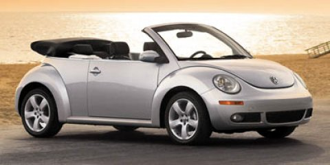 2007 Volkswagen New Beetle Convertible RED Convertible Soft Top