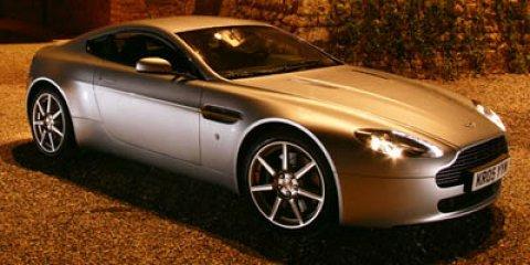 2007 Aston Martin Vantage 2dr Cpe Manual GRAY Climate Control