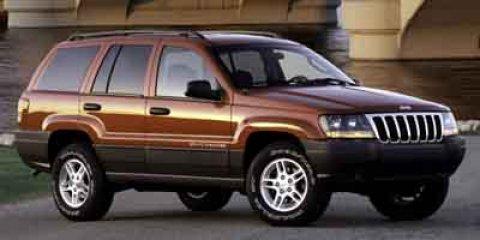 2003 JEEP Grand Cherokee Laredo 4dr SUV Bright grille Halogen headlamps Front License Plate Brack