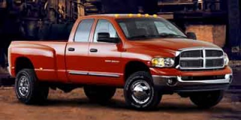 2004 DODGE Ram 3500 4 Dr Laramie Crew Cab LB DRW Bright front bumper Cargo lamp Variable speed in