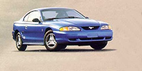 1998 FORD Mustang 2 Dr STD Coupe Tinted glass Color-keyed rocker moldings Interval windshield wip