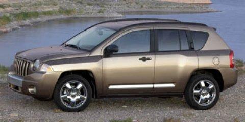 2007 JEEP Compass Sport 4dr SUV Solar control glass Side roof rails Accent color liftgate appliqu