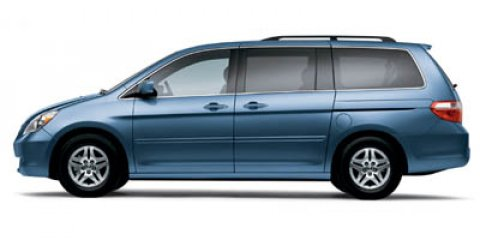 2007 HONDA Odyssey EX-L 4dr Minivan Body-color bumpers Body-color side moldings 2-speedvariable