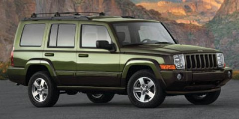 2007 JEEP Commander Sport 4dr SUV 4WD Body color fender flares Rear window wiperwasher Body colo