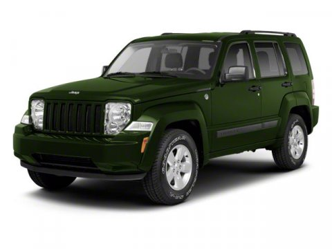 2011 JEEP Liberty 4x4 Limited 4dr SUV Body color fender flares Bright grille Chrome bodyside mold