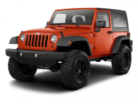 2011 JEEP Wrangler 4x4 Sport 2dr SUV Sunrider soft top feature P22575R16 onoff-road BSW tires B