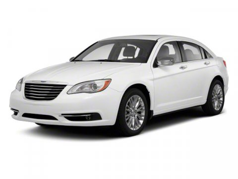 2012 CHRYSLER 200 Limited 4dr Sedan Dark argent grille wbright accents Front  rear solar control