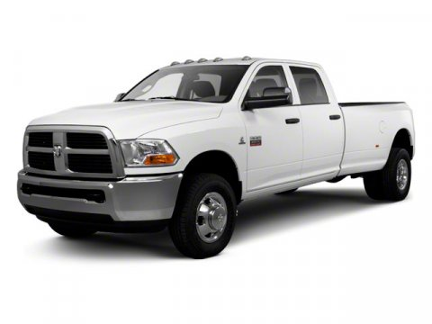 2012 RAM 3500 4x4 ST 4dr Crew Cab 8 ft LB DRW Pickup Body-color headlamp filler panel Black Grill