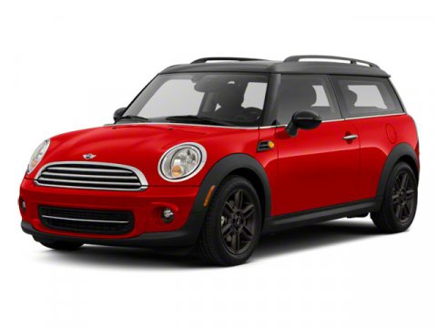 2013 MINI Cooper Clubman  Front speed-sensitive intermittent wipers Run-flat t