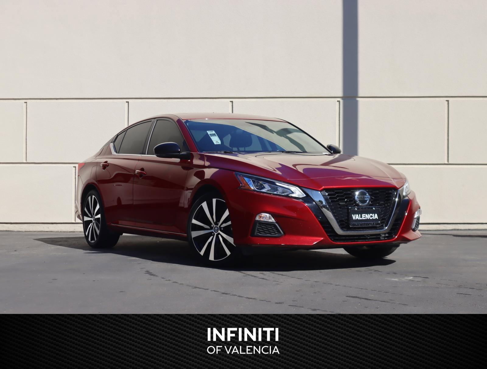 2019 Nissan Altima 2.5 SR 2.5 SR Sedan Regular Unleaded I-4 2.5 L/152 [2]