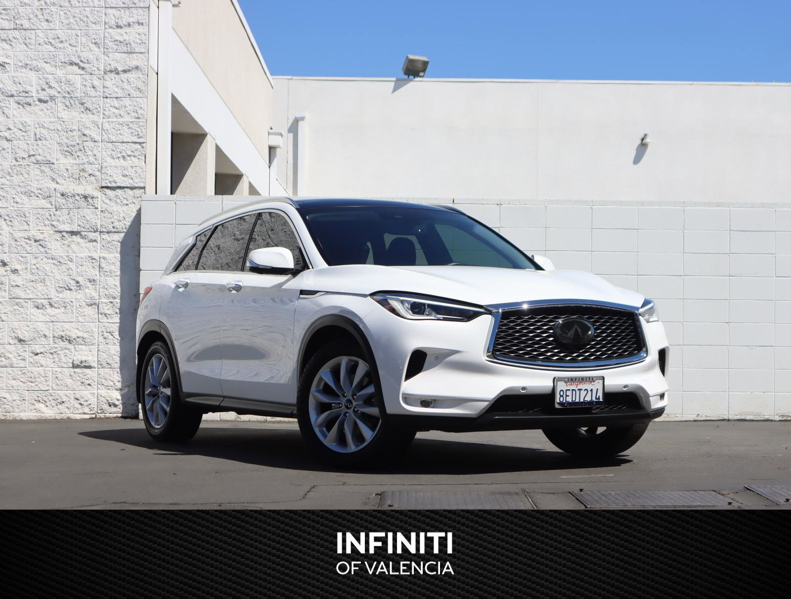 2019 INFINITI QX50 ESSENTIAL ESSENTIAL FWD Intercooled Turbo Premium Unleaded I-4 2.0 L/121 [15]
