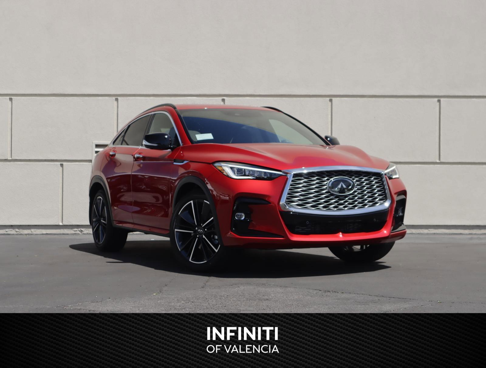 2022 INFINITI QX55 SENSORY SENSORY AWD Intercooled Turbo Premium Unleaded I-4 2.0 L/120 [12]