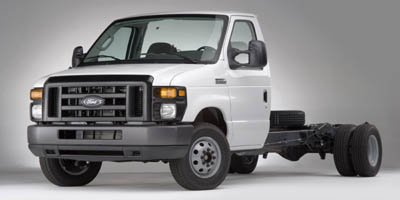 2011 Ford Econoline Commercial Cutaway  Rear Wheel Drive Power Steering 4-Wheel Disc Brakes Stee