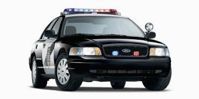 2008 Ford Police Interceptor Police