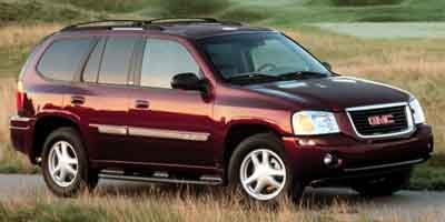 2002 GMC Envoy SLE Rear Wheel Drive Tires - Front All-Season Tires - Rear All-Season Aluminum Wh