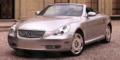 2002 Lexus SC 430  Traction Control Rear Wheel Drive Tires - Front Performance Tires - Rear Perf