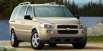 2008 Chevrolet Uplander LS 240 hp horsepower 39 L liter V6 engine with variable valve timing 4 D