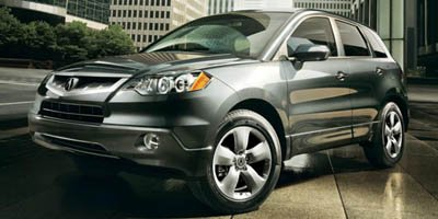 2008 Acura RDX  Turbocharged Traction Control Stability Control All Wheel Drive Tires - Front P