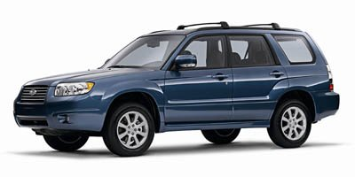 2008 Subaru Forester X with Premium Pkg LockingLimited Slip Differential All Wheel Drive Tires -
