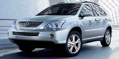 2008 Lexus RX 400h Navigation Traction Control Stability Control All Wheel Drive Tires - Front A