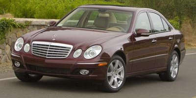 2008 Mercedes E-Class E350 Luxury 35L Traction Control Stability Control All Wheel Drive Tires