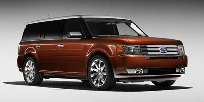 2009 Ford Flex Limited All Wheel Drive Power Steering ABS 4-Wheel Disc Brakes Tires - Front Per