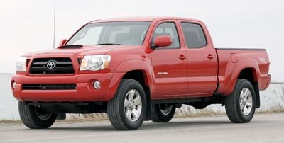 2008 Toyota Tacoma PreRunner Rear Wheel Drive Tires - Front OnOff Road Tires - Rear OnOff Road