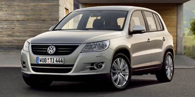 2009 Volkswagen Tiguan FWD Turbocharged Traction Control Front Wheel Drive P