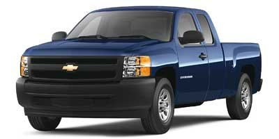 2008 Chevrolet Silverado 1500 Work Truck Silver Birch Metallic