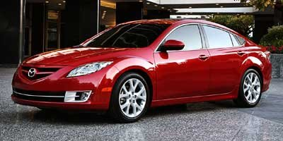 2009 Mazda Mazda6  Front Wheel Drive Power Steering 4-Wheel Disc Brakes Aluminum Wheels Tires -