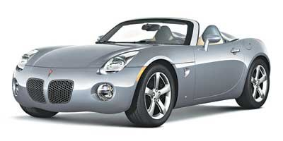 2008 Pontiac Solstice  Rear Wheel Drive Power Steering 4-Wheel Disc Brakes Aluminum Wheels Tire