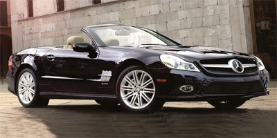 2009 Mercedes-Benz SL-Class V 8