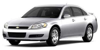 2009 Chevrolet Impala 39L LT  233 hp horsepower 39 liter V6 engine 4 Doors