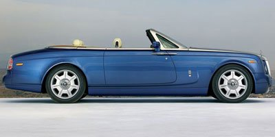 2009 Rolls Royce Phantom Coupe  Rear Wheel Drive Power Steering 4-Wheel Disc Brakes Tires - Fron
