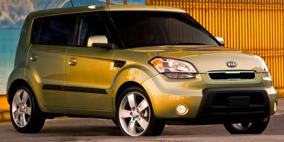 2010 Kia Soul  Front Wheel Drive Power Steering 4-Wheel Disc Brakes Aluminum Wheels Tires - Fro