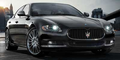 2008 Maserati Quattroporte L LockingLimited Slip Differential Traction Control Stability Control