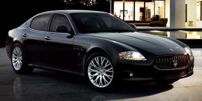 2011 Maserati Quattroporte S LockingLimited Slip Differential Rear Wheel Drive Active Suspension