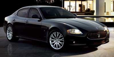 2011 Maserati Quattroporte S LockingLimited Slip Differential Rear Wheel Drive Active Suspension